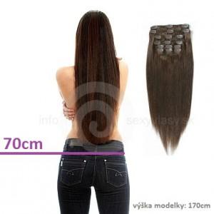 CLIP IN (125g) 70cm dlhé - rovné